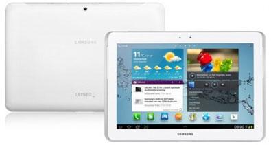 Samsung Galaxy Tab 2 10.1 3G Wi-Fi P5100 16GB Android Tablet - WHITE