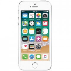 Used as Demo Apple iPhone SE 128GB - Silver (Excellent Grade)
