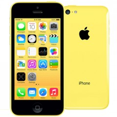 Used as demo Apple iPhone 5C 32GB Phone - Yellow (Excellent Grade)