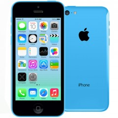 Used as demo Apple iPhone 5C 32GB Phone - Blue (Excellent Grade)