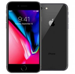 Used as demo Apple Iphone 8 64GB Phone - Space Grey (Excellent Grade)