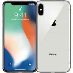 Used as demo Apple Iphone X 64GB - Silver (Excellent Grade)