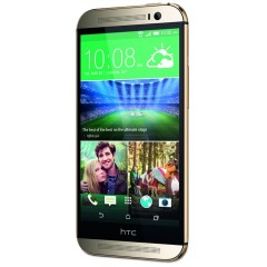 Refurbished HTC One M9 4G LTE 32GB Android Phone GOLD + RE-SEALED RETAIL BOX + 15 DAY MONEY BACK