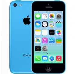 Used as demo Apple iPhone 5C 16GB Phone - Blue
