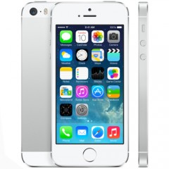 Used as Demo Apple iPhone 5S 32GB Phone - Silver (Excellent Grade)