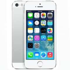 Used as Demo Apple iPhone 5S 16GB Phone - Silver (Excellent Grade)