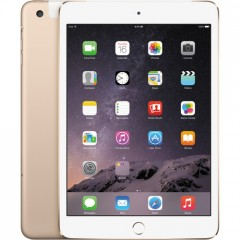 Used as Demo Apple iPad Mini 3 128GB Wifi+Cellular - Gold (Excellent Grade)