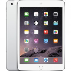 Used as Demo Apple iPad Mini 3 128GB Wifi+Cellular - Silver (Excellent Grade)