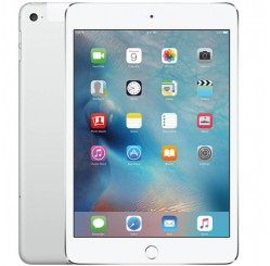 Used as Demo Apple iPad Mini 4 16GB Wifi+Cellular - Silver (Local Warranty, AU STOCK, 100% Genuine)