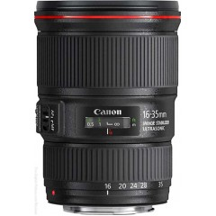 Canon EF 16-35mm f/4L IS USM DSLR Camera Lens + 12MTH LOCAL WARRANTY