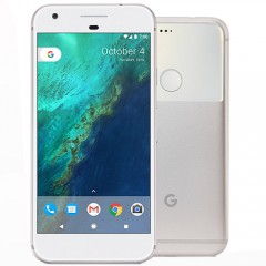 Used as Demo Google Pixel XL 128GB Smarphone - Silver + AUS STOCK + 12MTH AUS WTY