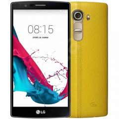 LG G4 H815T 32GB 16MP 4G LTE Leather - Yellow + 12MTH AU WTY