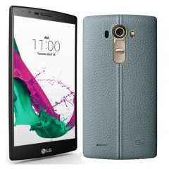 LG G4 H815 16MP 32GB 4G LTE Smartphone Leather - BLUE + FREE GIFT + 12MTH LOCAL WARRANTY