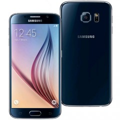 Refurbished Samsung Galaxy S6 64GB 4G LTE Smartphone - Black + RE-SEALED RETAIL BOX + 15 DAY MONEY BACK