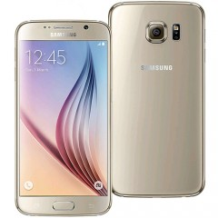 Refurbished Samsung Galaxy S6 64GB 4G LTE Smartphone - Gold + RE-SEALED RETAIL BOX + 15 DAY MONEY BACK