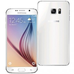 Samsung Galaxy S6 64GB 4G LTE Smartphone - White - 12MTH AUS WTY + NEW SEALED BOX