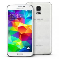 Samsung GALAXY S5 SM-G900 16GB 4G LTE Factory Unlocked Phone White + 12MTH AUS WTY + NEW SEALED BOX