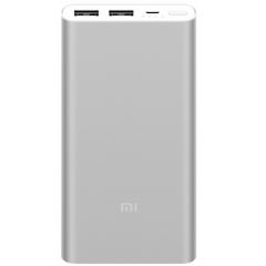 Brand new Xiaomi Mi Power Bank 2S 10000mAh Portable Battery Charger - Silver